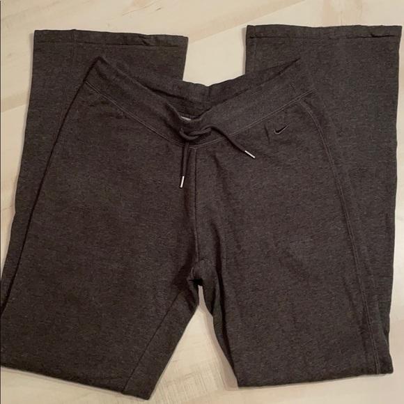 Nike Wide Leg Bootcut Drawstring Sweats (NWOT)
